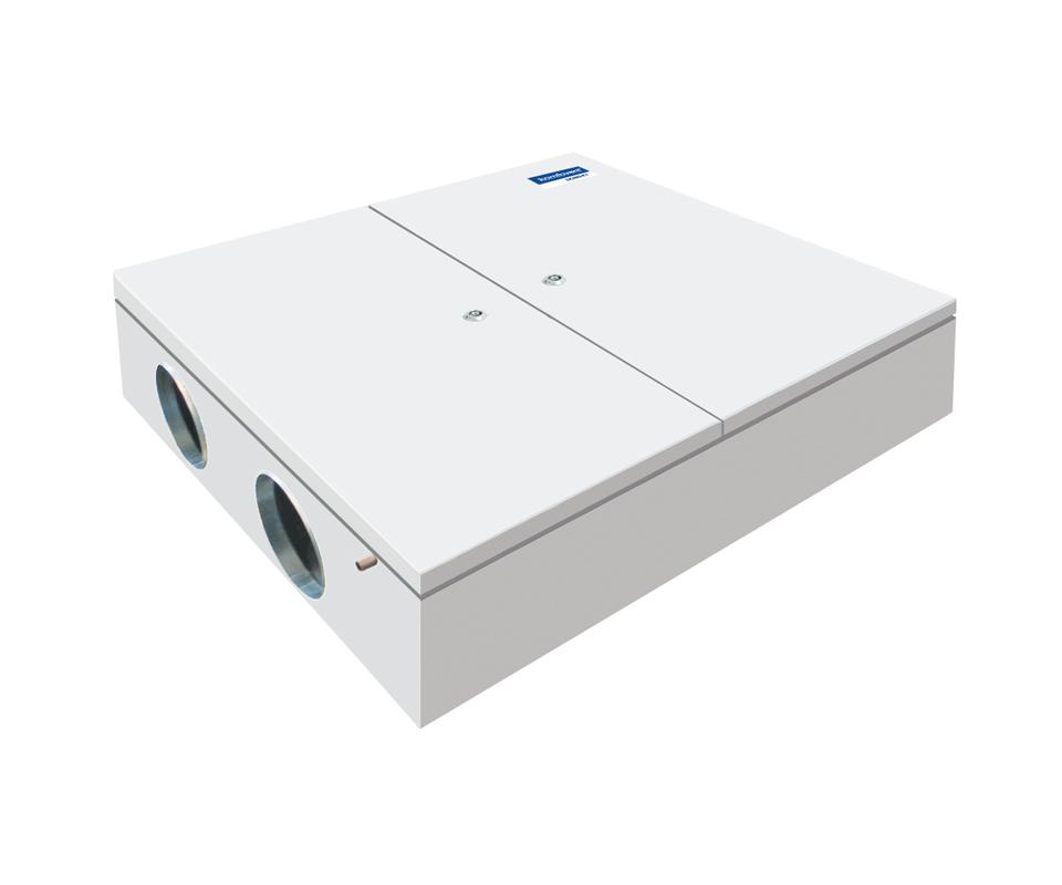 Rekuperatorius su priešsroviniu plokšteliniu šilumogrąžiu Komfovent Domekt CF 500 F