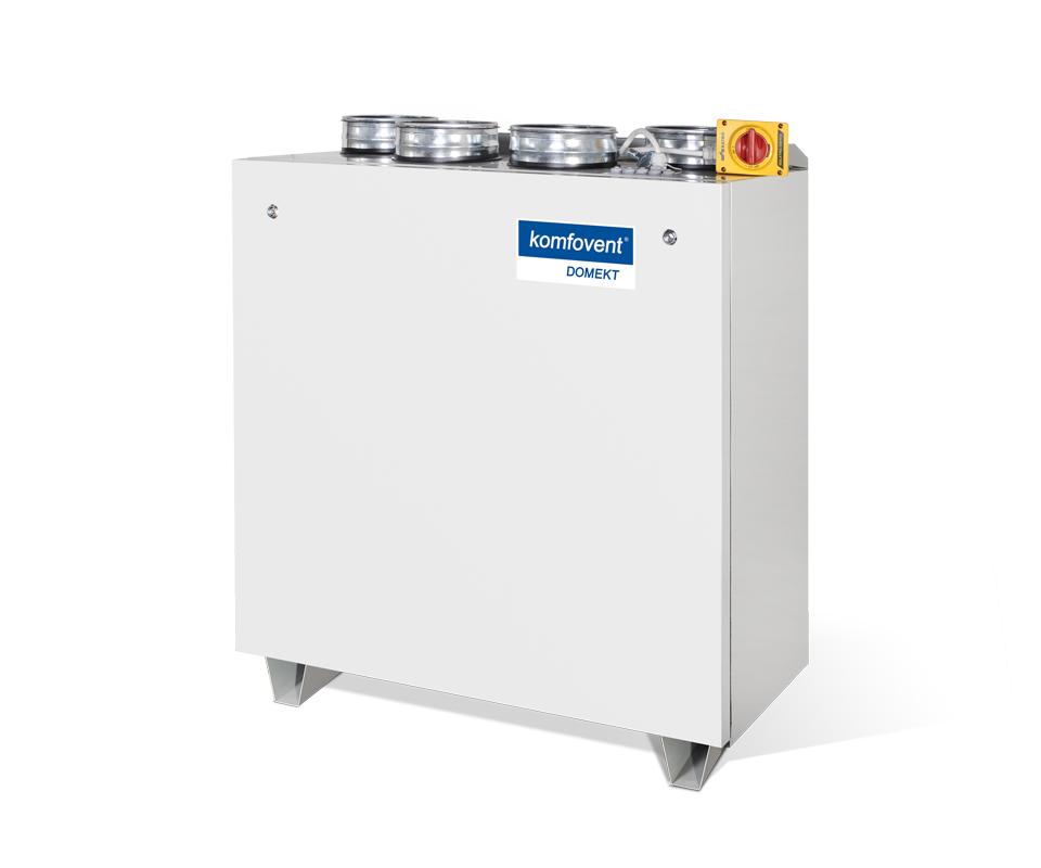 Rekuperatorius su priešsroviniu plokšteliniu šilumogrąžiu Komfovent Domekt CF 700 V