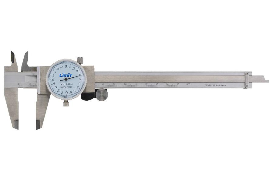 Analoginis slankmatis Limit 52700309 (150 mm su 0.02 mm žingsniu)