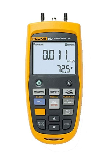 Oro srauto matuoklis / mikromanometras Fluke 922