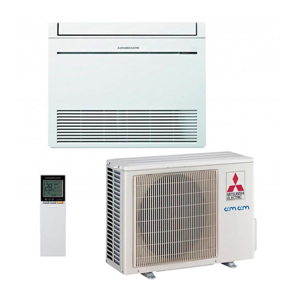 Grindinis Mitsubishi kondicionierius (oras-oras šilumo siurblys) MFZ-KJ-VEHZ