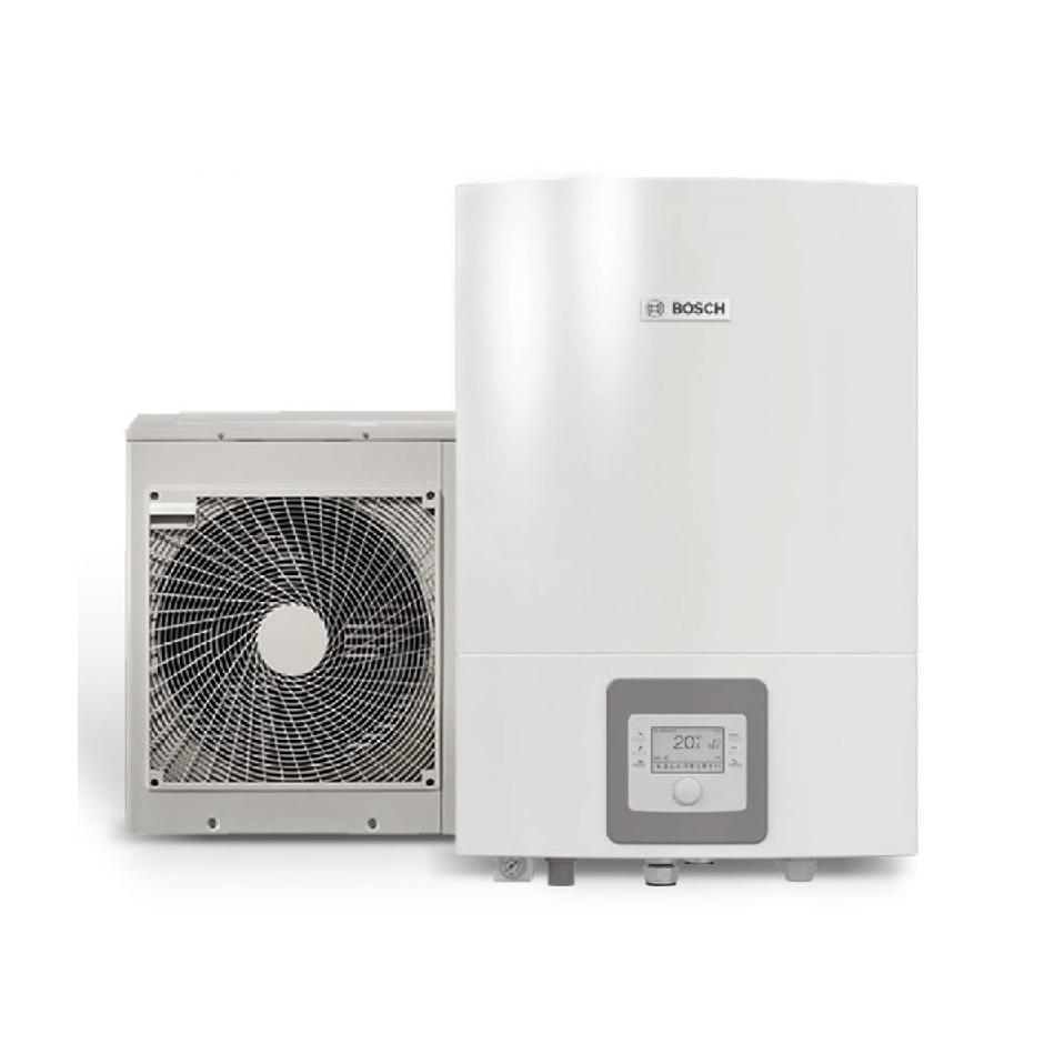Oras - vanduo šilumos siurblys Bosch Compress 3000 AWS ODU Split 8 / AWES 8-15