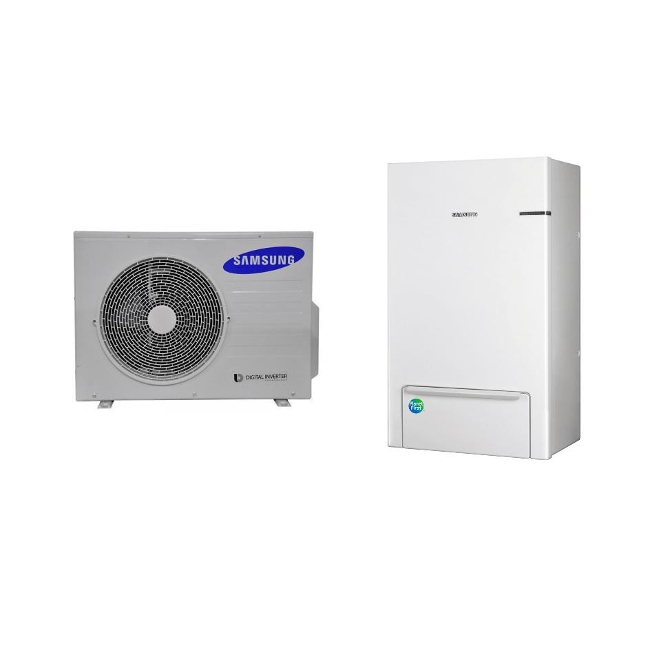 Oras-vanduo šilumos siurblys Samsung AE090JNYDEH/EU - AE040JXEDEH/EU