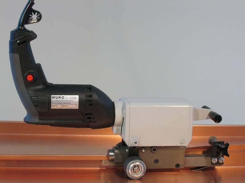 Kraštų valcavimo įrankis WUKO Roof Profiling Machine 1008