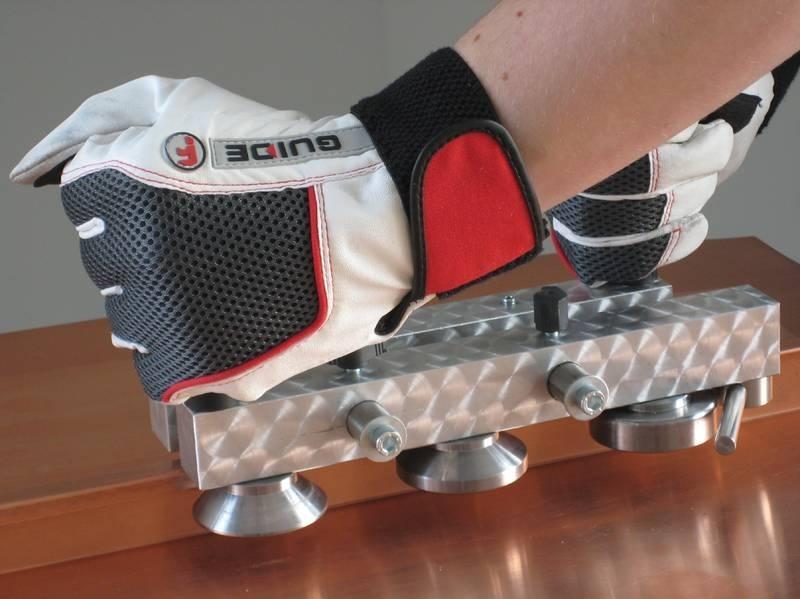 Kraštų valcavimo įrankis WUKO Lock'n'Roller 1040