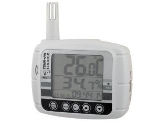 Temperatūros ir drėgmės duomenų kaupiklio VZ8808 nuoma