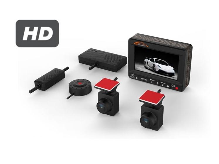 Vaizdo registratorius su dviem kameromis K1S