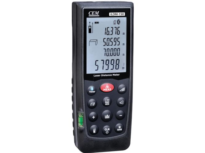 Lazerinis atstumų matuoklis iLDM-150