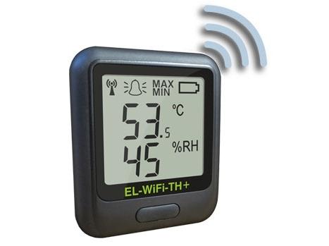 Bevielio ryšio temperatūros ir drėgmės duomenų kaupiklis EL-WiFi-TH+