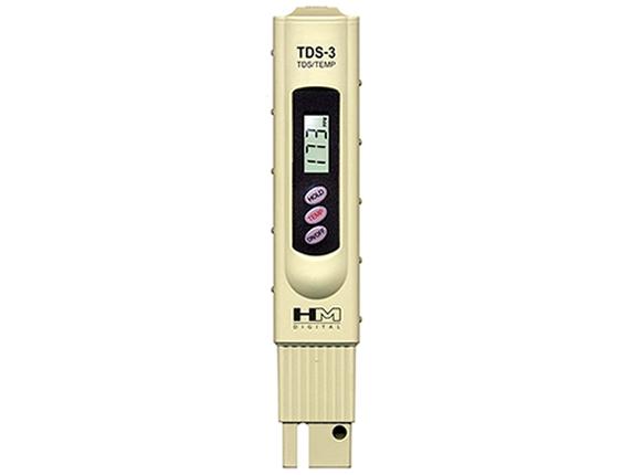 Ištirpusių kietųjų medžiagų matuoklis TDS-3