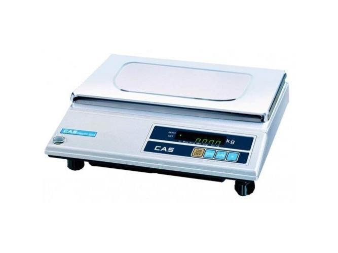 Elektroninės svarstyklės CAS AD 15 su metrologine patikra