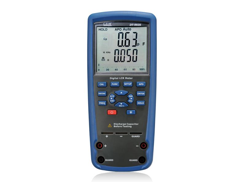 Profesionalus LCR multimetras DT-9935