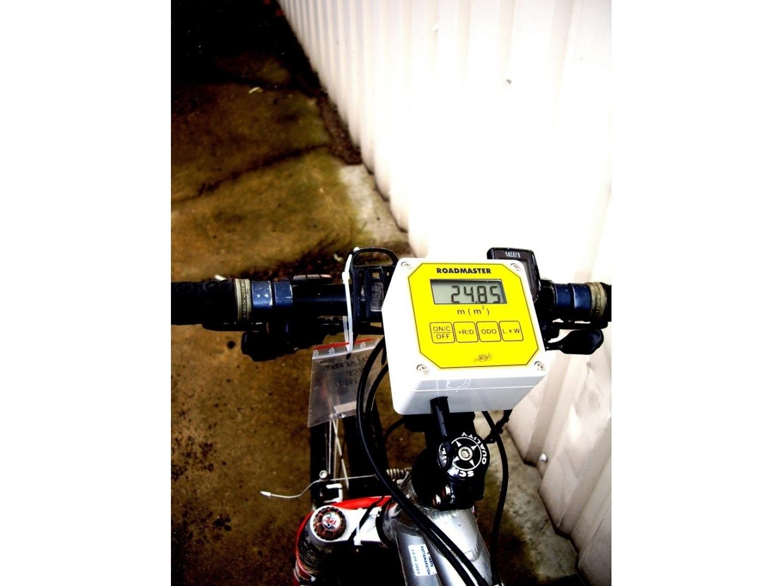 Atstumų matavimo prietaisas BR-1 (montuojamas ant dviračio)
