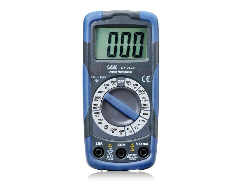Skaitmeninis multimetras DT-918