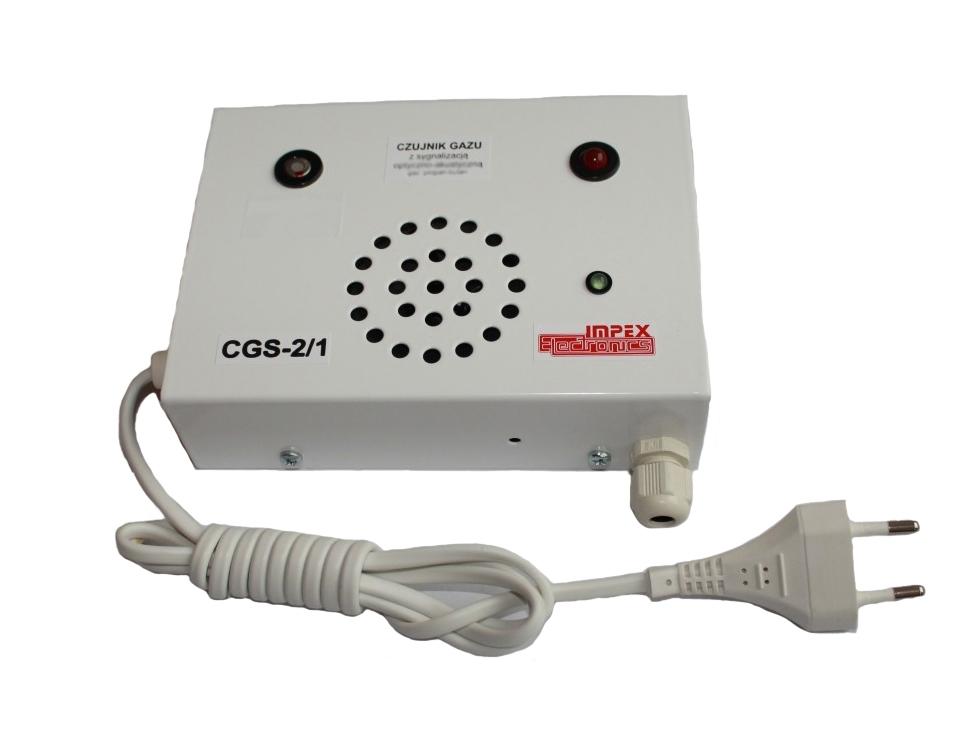 Anglies monoksido (smalkių) detektorius CGS-2/1 1P 230V