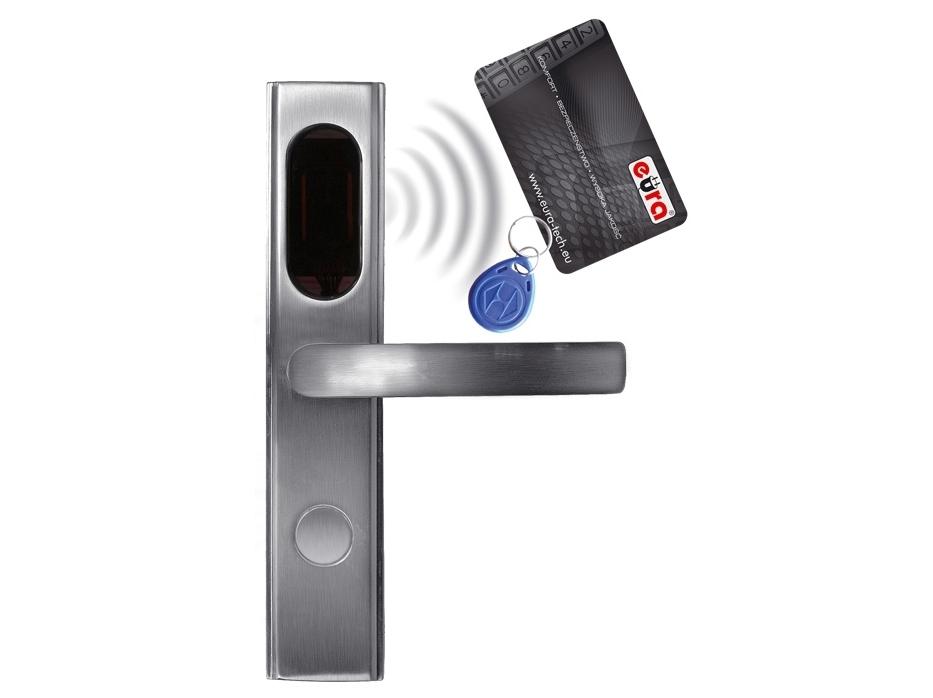 Elektromechaninė durų spyna su RF ID skaitytuvu ELH-10B9/silver (valdymo dalis)