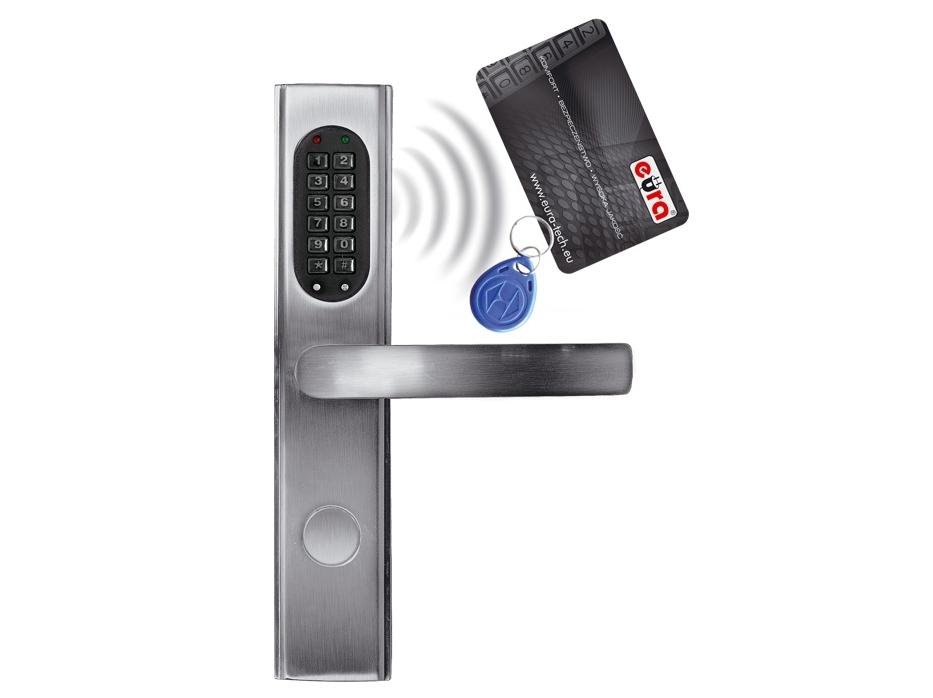 Elektromechaninė durų spyna su RF ID skaitytuvu ir kodo užraktu ELH-30B9/silver (valdymo dalis)