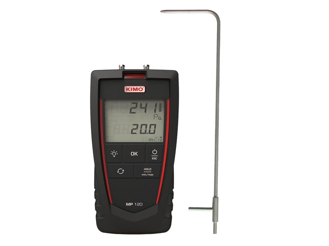 Skaitmeninis mikromanometras KIMO MP 120