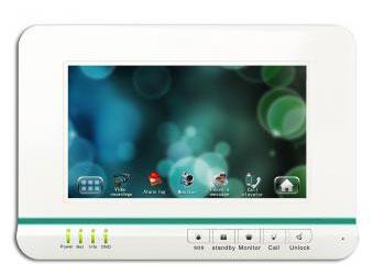IP domofono monitorius VTH1520A