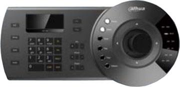 Tinklinė vaizdo kameros valdymo klaviatūra RJ45