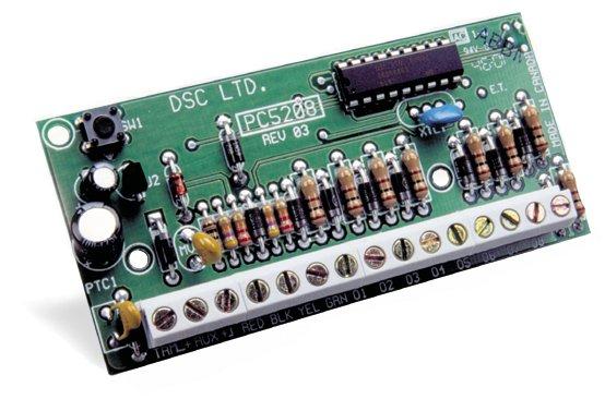 8 zonų išėjimo modulis DSC PC5208