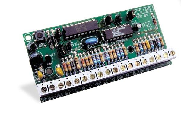 8 zonų išplėtimo modulis DSC PC5108