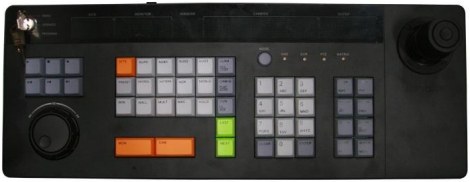 PTZ vaizdo kameros valdymo klaviatūra Hikvision DS-1004KI
