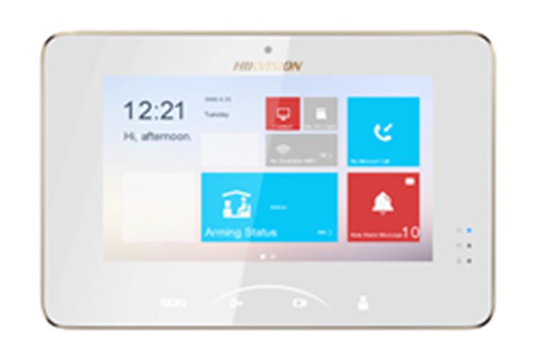 IP vaizdo telefonspynės monitorius Hikvision DS-KH8301-WT