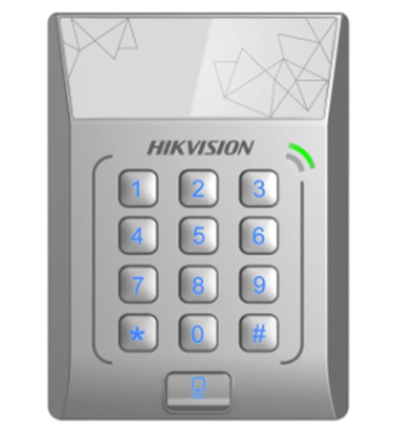 Hikvision kontroleris su skaitytuvu DS-K1T801E