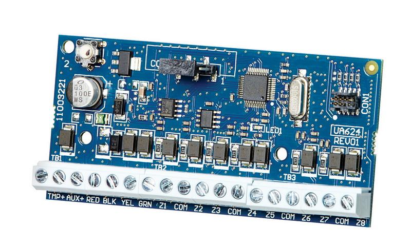 8 zonų išplėtimo modulis DSC Neo serijos centralėms HSM2108