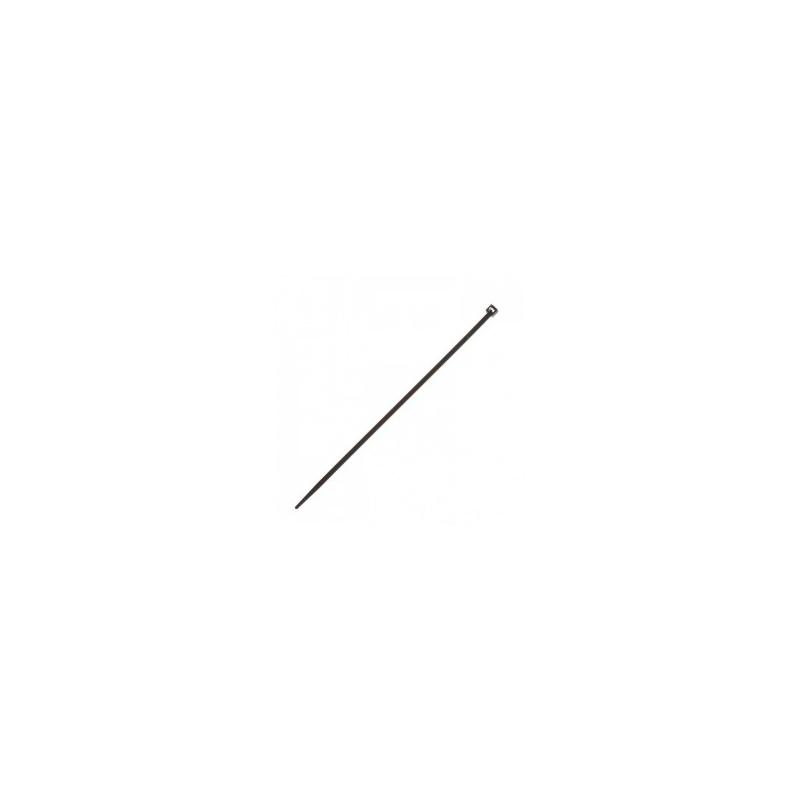 Dirželis kabeliui 140mm (juodas)