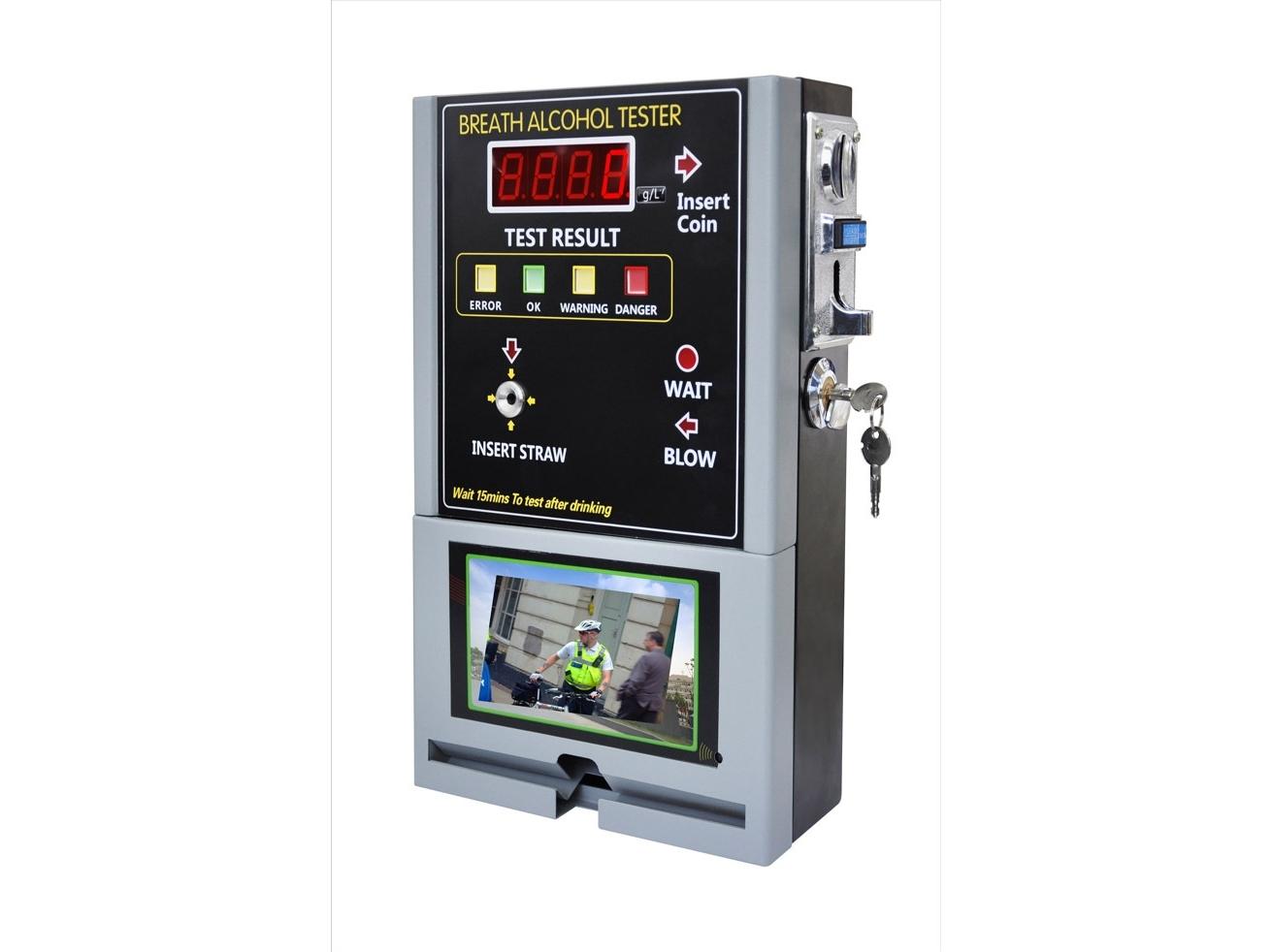 Monetinis alkotesteris AT319V su LCD ekranu