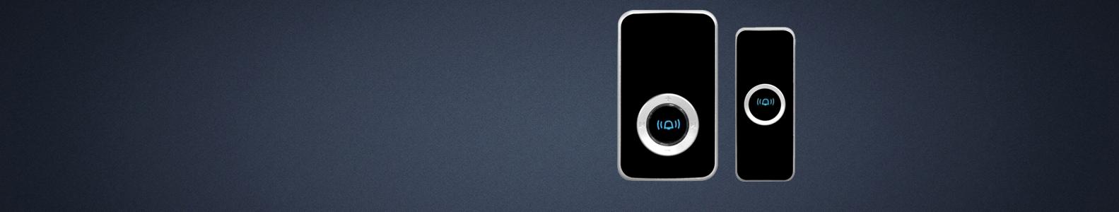 Durų skambučiai  Bevieliai ir iš elektros tinklo maitinami durų skambučiai