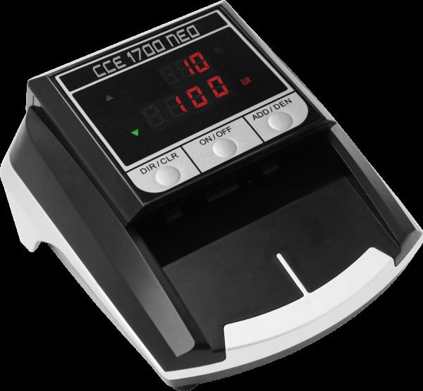 Banknotų tikrinimo aparatas CCE 1700 NEO