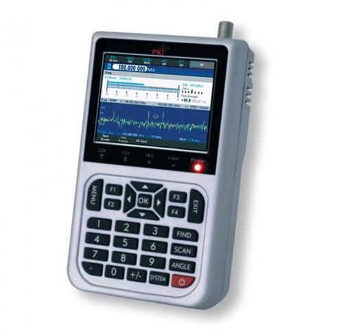 Profesionalus stebėjimo imtuvas PKI 2245 diapazone nuo 9 kHz iki 7,5 GHz