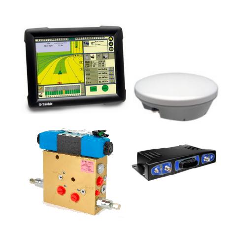 Trimble automatinio vairavimo sistema Autopilot su  FmX navigatoriumi