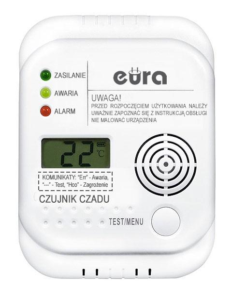 Anglies monoksido detektorius CD-65A4
