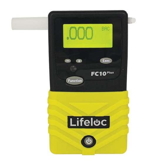 Alkotesteris Lifeloc FC10 Plius