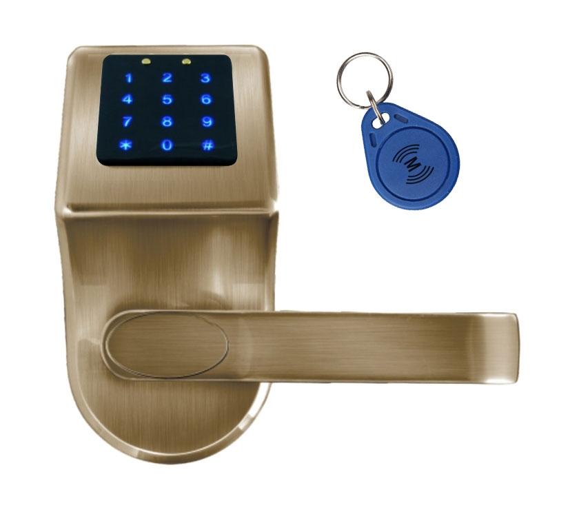 Išmani elektroninė durų spyna ELH-80B9 / ruda (valdymo dalis)