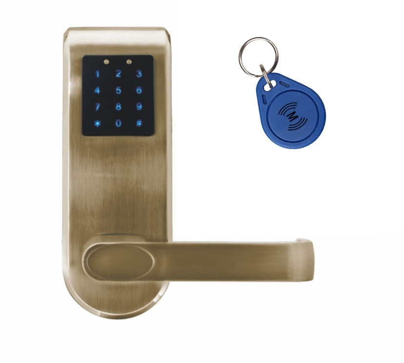 Išmani elektroninė durų spyna ELH-82B9 / ruda (valdymo dalis)