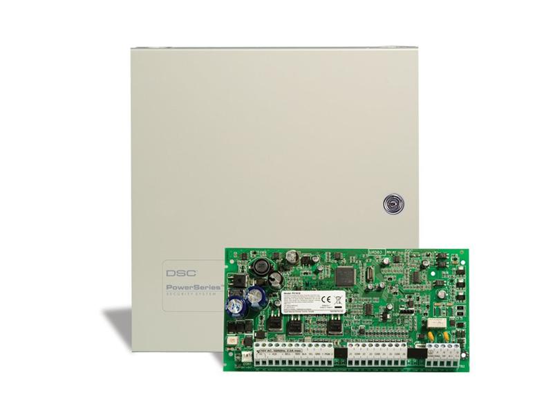 Apsaugos centralė DSC PC1616  PowerSeries apsaugos centralės yra užsitarnavusios patikimumą ir vertę tarp apsaugos sistemų profesionalų.  Naujosios kartos centralėse įdiegtos tokios papildomos funkcijos, kaip CO jutiklių palaikymas, automatinis sinchronizavimas sumažinantis instaliacijos laiką, lankstumas pranešantis suveikimo būseną (VoIP, GPRS/GSM ir kt. būdai) ir kiti privalumai.
