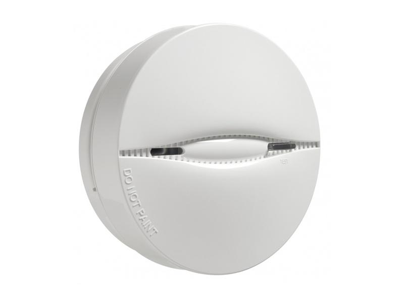 Belaidis dūmų jutiklis DSC Neo PG8926  Fotoelektrinis dūmų detektorius. Perspėja apie dūmus, tamperį ir senkančią bateriją. Matomas ryšio kokybės indikatorius. Pilnai stebimas. Turi garsų perspėjimo signalą (85dB).  Ilgas baterijos veikimo laikas (apie 8 metus su įprastiniu naudojimu)  .