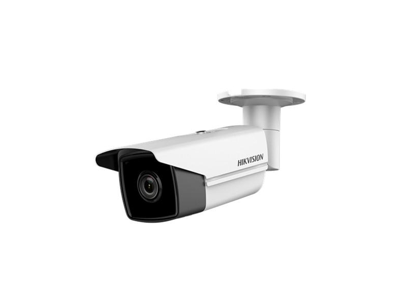 """Vaizdo kamera Hikvision DS-2CD2T45FWD-I8 F4  4MP IP vaizdo kamera su 4mm objektyvu. Sensorius: 1/2.5"""" Progressive Scan CMOS. Signalo sistema: PAL/NTSC.  PoE. Vaizdo suspaudimas: H.265+/H.265/H.264+/H.264/MJPEG. EXIR pašvietimas iki 80 metrų. IP67 apsaugos klasė."""