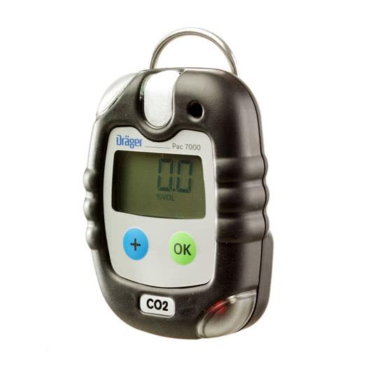 CO dujų analizatorius Drager Pac® 7000