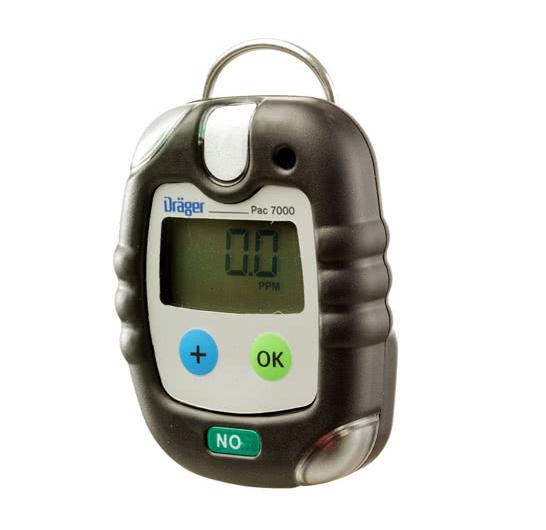Azoto monoksido dujų analizatorius Drager Pac® 7000
