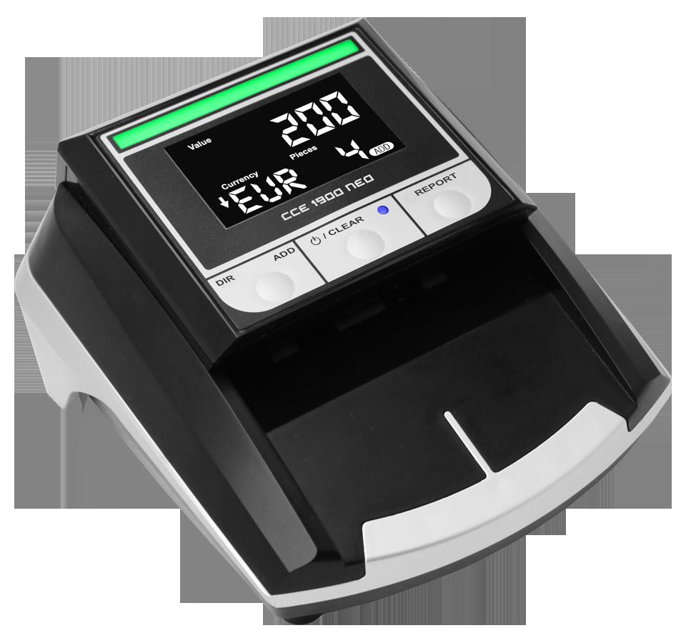 Banknotų tikrinimo aparatas CCE 1900 NEO
