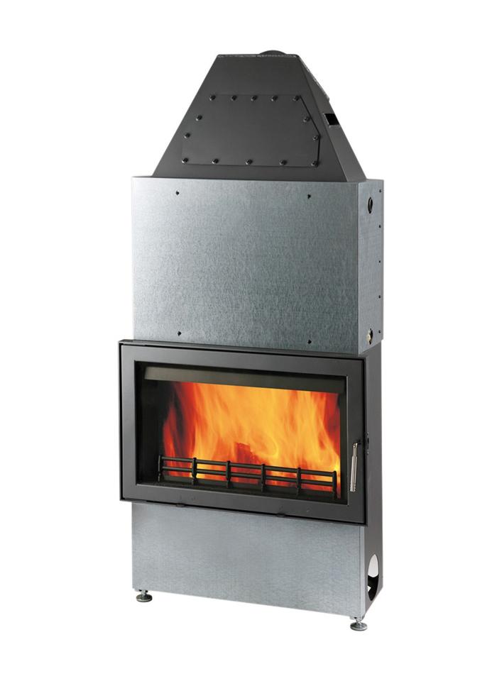 Plieninis židinio ugniakuras HAAS+SOHN NOVARA 17