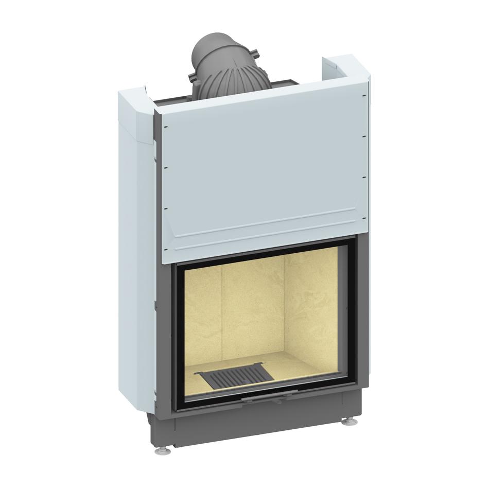 Plieninis židinio ugniakuras SCHMID LINA W 7363 H