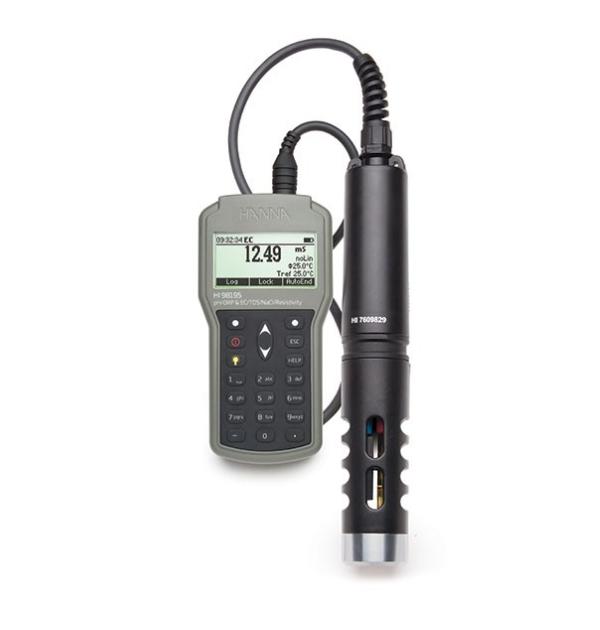 Daugiafunkcinis vandens kokybės matuoklis HI-98195