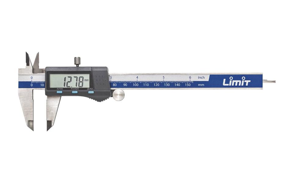 Skaitmeninis slankmatis Limit 263960106 (150 mm)
